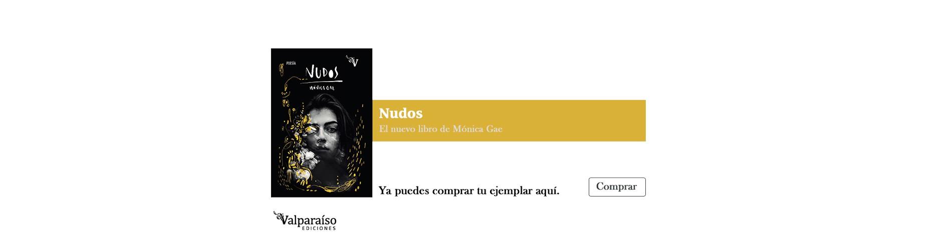 Nudos, el nuevo libro de Mónica Gae, ya puedes comprar tu ejemplar aquí