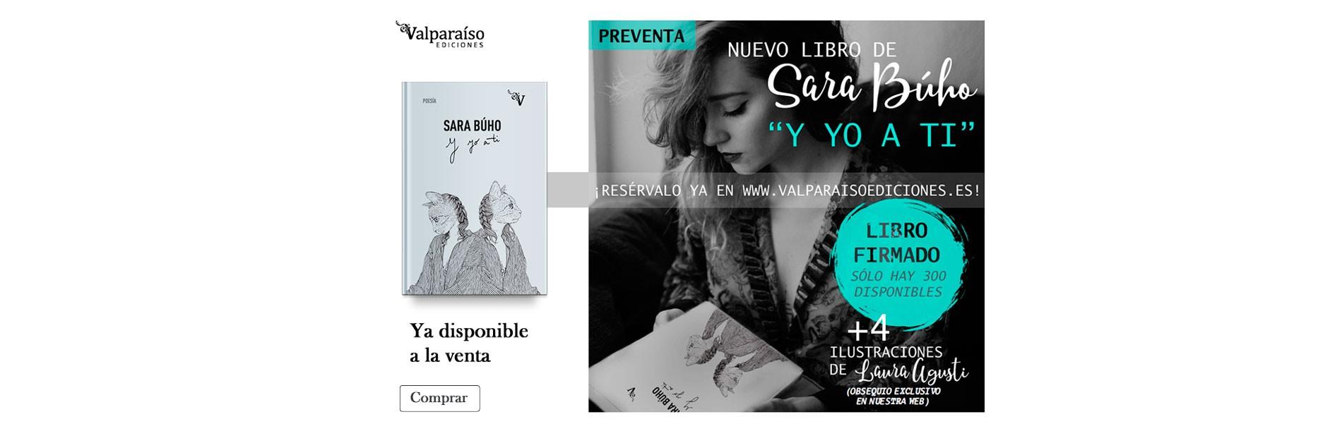 """Nuevo libro de Sara Búho """"Y yo a ti"""", resérvalo ya, libro firmado, sólo hay 300 disponibles"""