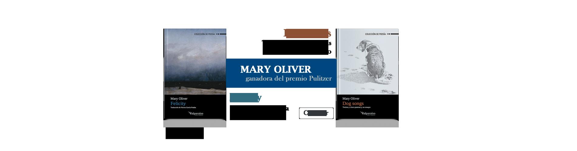 Mary Oliver, ganadora del premio Pulitzer